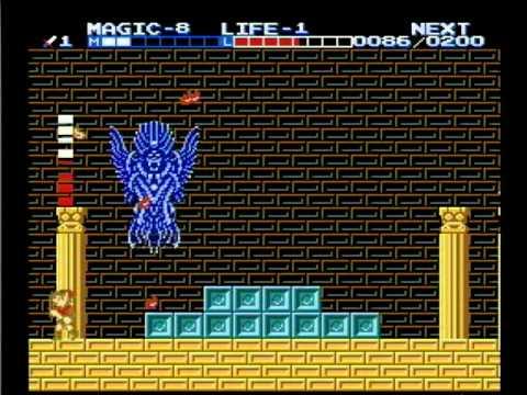 Zelda II The Adventure of Link 1-8-1 Game Challenge (pt.2 ...