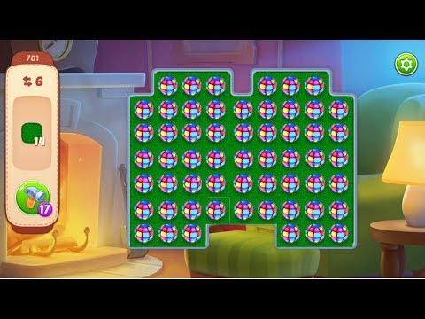 HOMESCAPES Gameplay - Level 781 (iOS, Android)