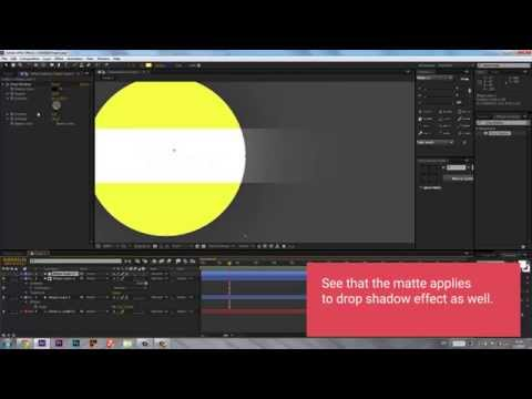 Understanding Alpha Matte - After Effects