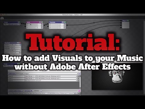 Easy Tutorial: How to add Visuals to your Music - Audio Reaction without Adobe After Effects