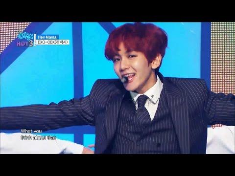 【TVPP】 EXO-CBX – Hey Mama, 엑소-첸백시 – 헤이 마마 @Unit Debut, Show Music Core