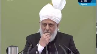Проповедь Хазрата Мирзы Масрура Ахмада (05-04-2013)
