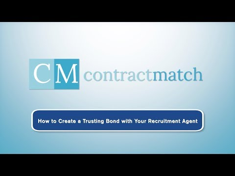 How to Create a Trusting Bond with Your Recruitment Agent