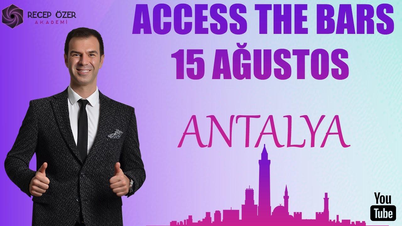 ACCESS THE BARS 15 AĞUSTOS ANTALYA, 22 AĞUSTOS İZMİR, 29 AĞUSTOS ANKARA, 30 AĞUSTOS İSTANBUL!