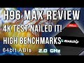 H96 Max Rockchip Hexa Core Android TV Box Review - Played the 2nd 4K Jellyfish video!!