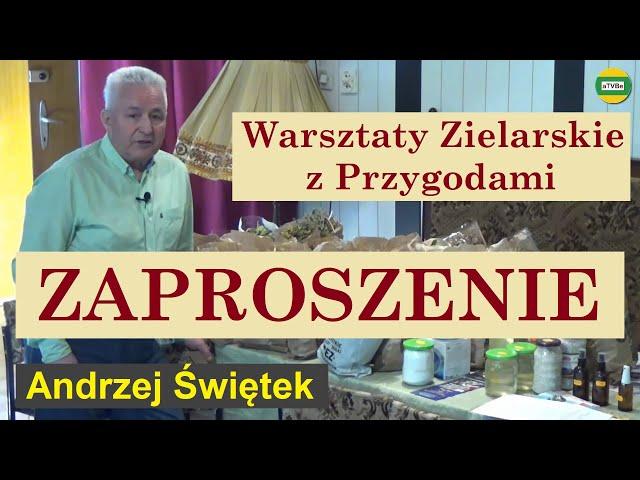 Śnieżna Kopa - Warsztaty Zielarskie ZAPROSZENIE Andrzej Świętek Ewa Wójcik Alex Polański Karpacz2021