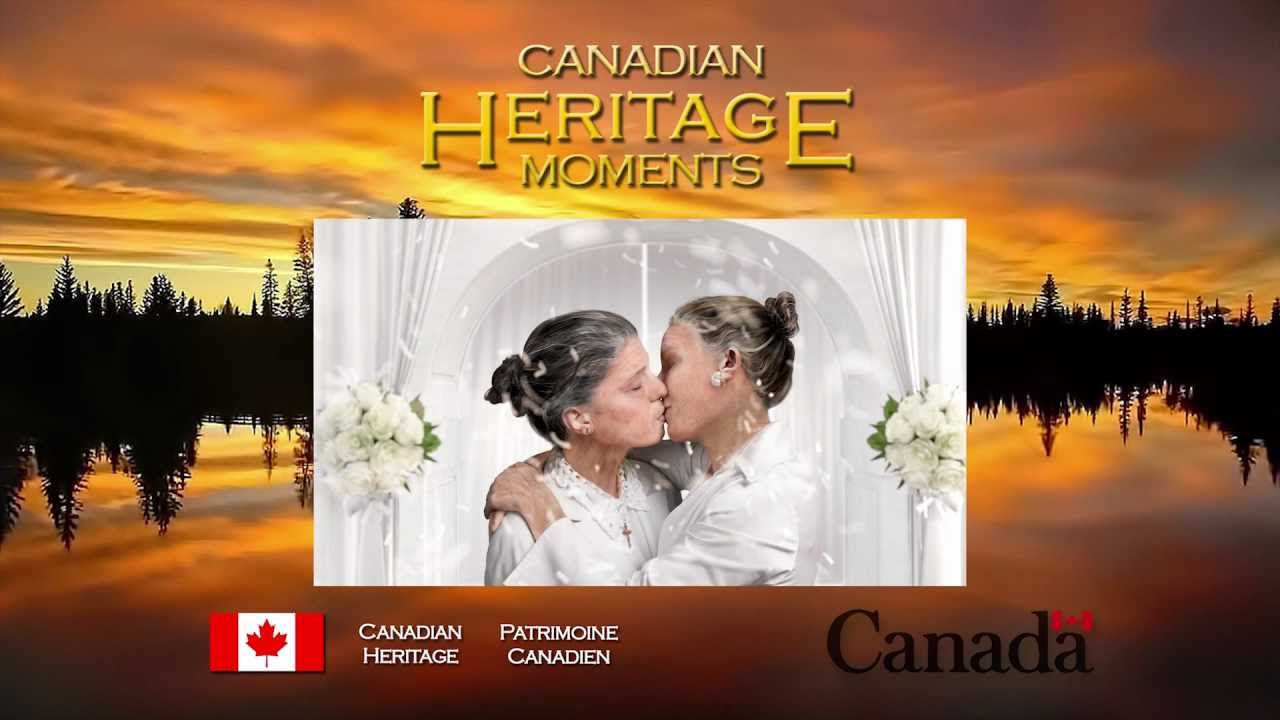 Heritage Minute: Lesbian Marriage - YouTube