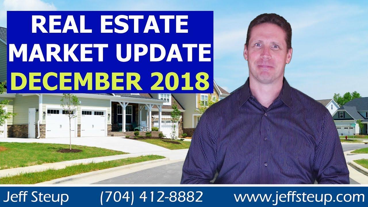 South Charlotte / Waxhaw Area Real Estate Market Update December 2018
