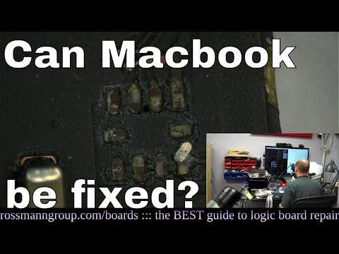 DESTROYED Macbook fixed by GENIUS technician! (Paul S)