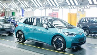Volkswagen ID.3 Production - Electric Car Factory (4K)