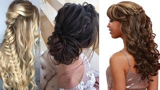 CUTE & EASY Hairstyles , Most Beautiful Hairstyles |How To Style For Own Hair #4
