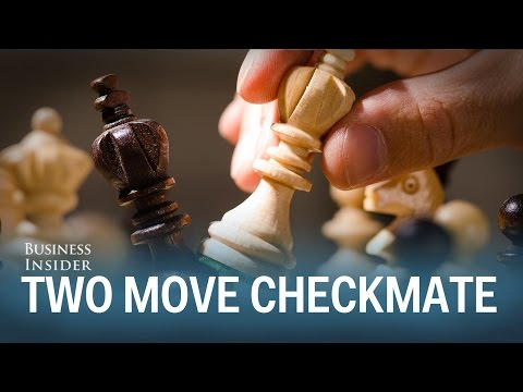 How to win chess in two moves