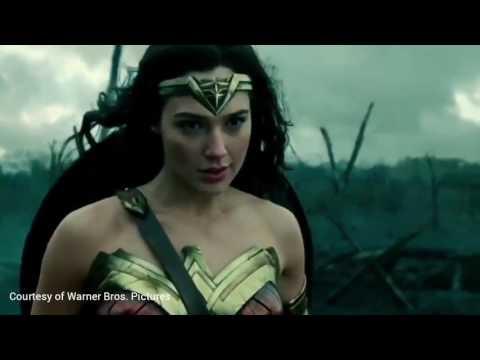 Wonder Woman - No mans land scene