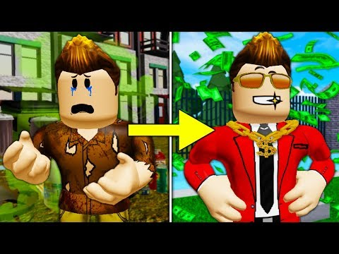 Poor To Rich: Becoming Successful *FULL MOVIE* (A Sad Roblox Movie)