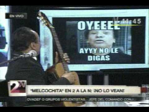 Melcochita entrevista en canal N