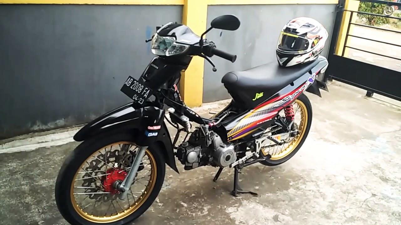 Supra X 100cc Harian  Race