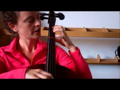 Cello Skill #13: 1st finger note names