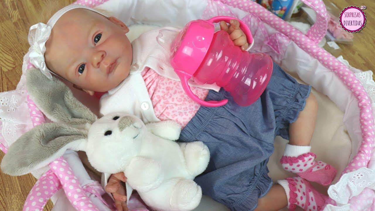 13356c971 Si Lindea fuera un bebé de verdad... estas son las compras para una bebé  Reborn