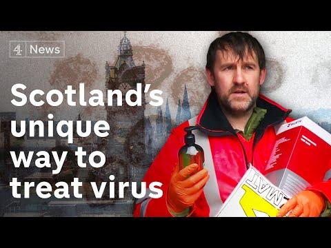 Scotland's NHS Using Unique System To Treat Coronavirus