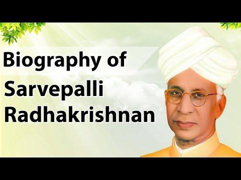 Biography of Sarvepalli Radhakrishnan, First Vice President of India & Bharat Ratna award winner