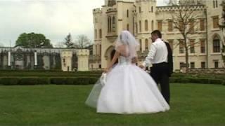 Символическая свадьба в Глубоке над Влтавой.