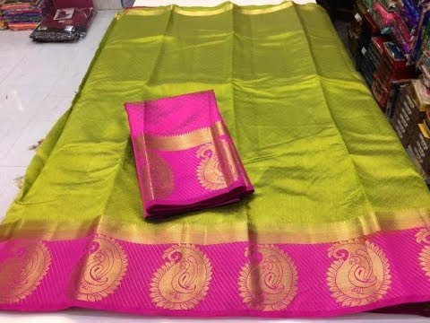 latest designer tussar silk sarees with price/fashion9tv/price:1250 /-
