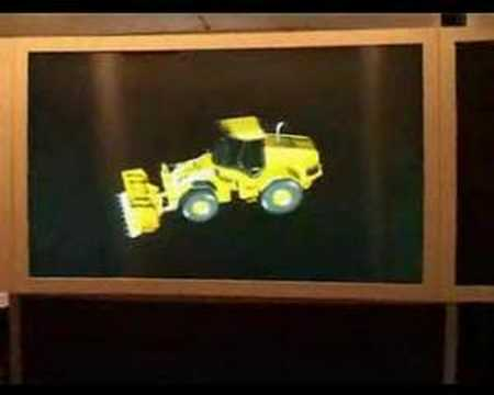 how to make a holographic display