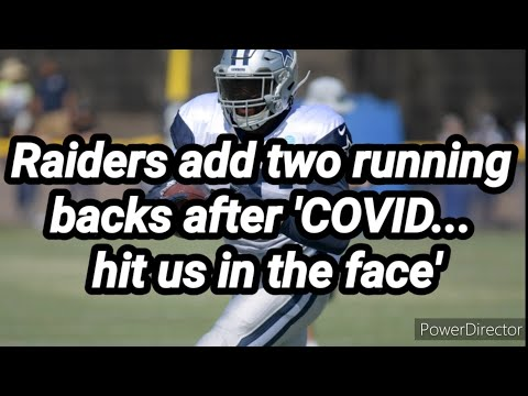 Las Vegas Raiders: As I First Reported 3 RB's Are Out 2 RB's Added To Roster By Joseph Armendariz - Vlog