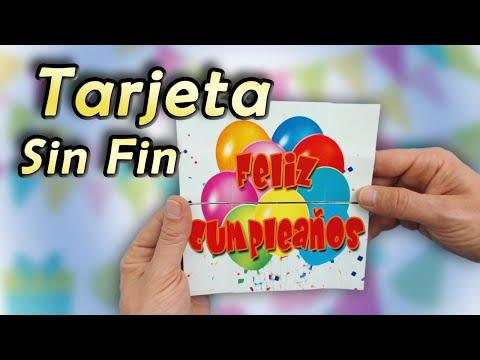 Tarjeta sin fin o never ending card, cómo...