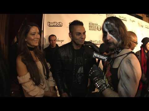 JOSE MANGIN Interview, Revolver Music Awards 2016 Black Carpet | MetalSucks
