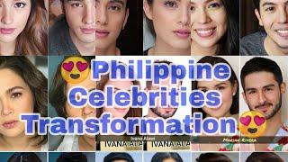 Philippine Celebrities Transformation