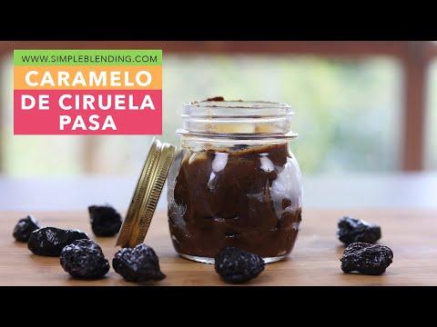 Cómo preparar caramelo de ciruela pasa   Endulzante natural   Muy fácil