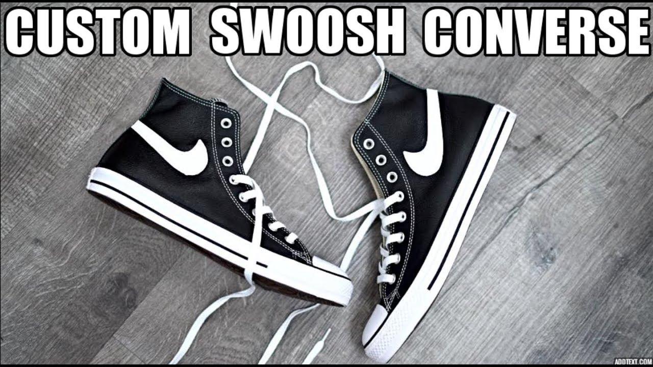 CUSTOM SWOOSH CONVERSE