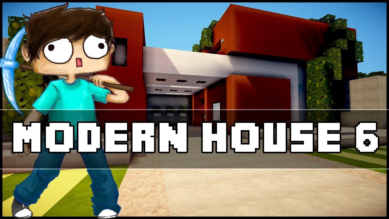 Minecraft Modern House 6 YouTube
