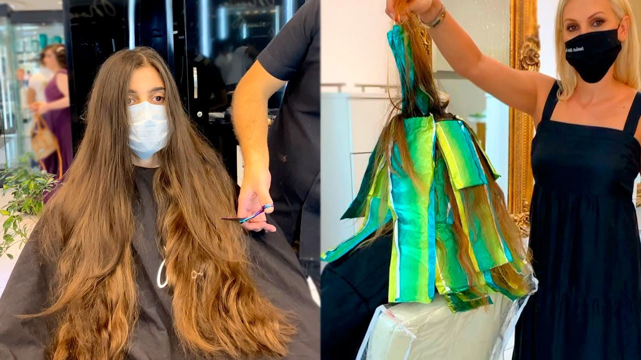 Extreme Hair Makeovers Before And After Compilation   New Hairstyles Tutorials 2020