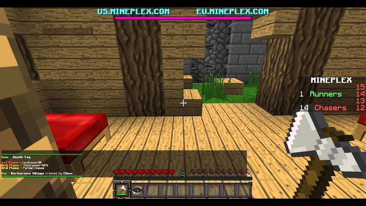 Minecraft Mini Game Fiesta w/ Parker Games!