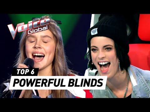 POWERFUL BLIND AUDITION in The Voice Kids