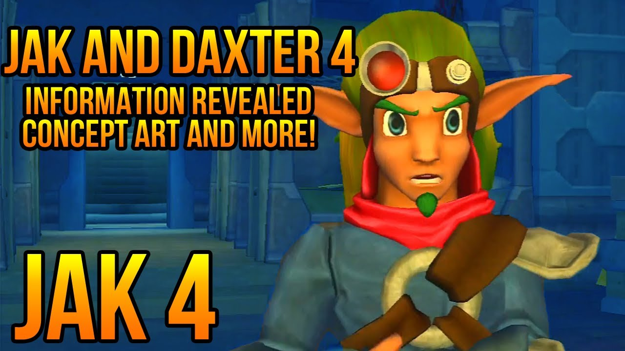Jak And Daxter 4 Concept Art Information And Development Revealed Jak 4