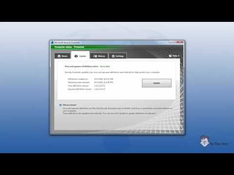 How to Update Microsoft Security Essentials, Auto vs Manual