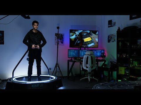 The KAT Walk mini - A Ready Player One omni-directional VR Treadmill (Compact & Unrestrictive).