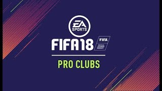 LATE NIGHT PRO CLUBS & MARQUEE MATCHUPS (FIFA 18) (LIVE STREAM)