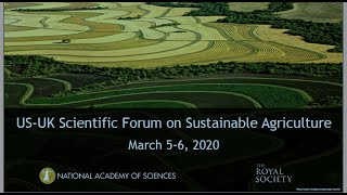 Image for vimeo videos on 2019 US-UK Scientific Forum on Sustainable Agriculture: - 31 - Panel 4 - Discussion