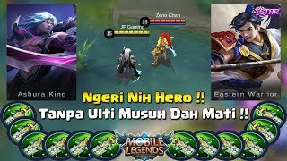 MARTIS vs ZILONG  || FULL BLADE OF DESPAIR || Duel Fighter Terkuat Jaman Now (Mobile Legends)