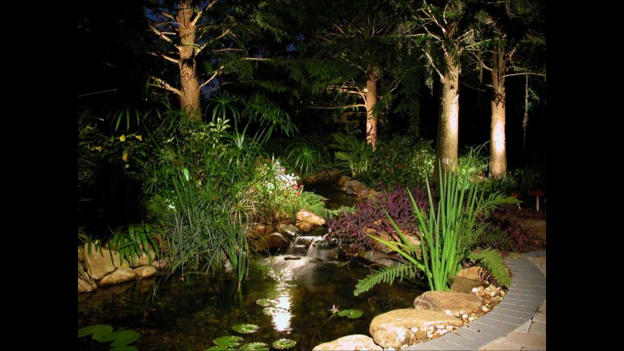Landscape Lighting Tampa Florida  YouTube