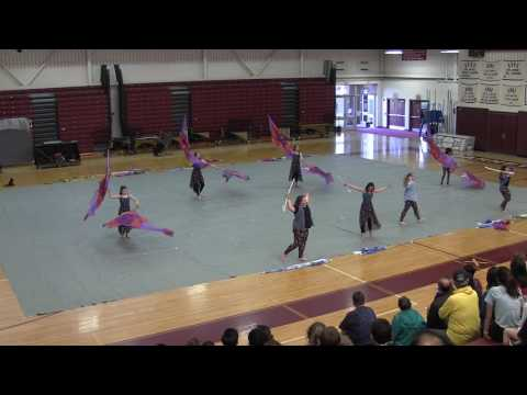 Garnet Valley Middle School Color Guard - 05/03/2017 Friends & Family Night