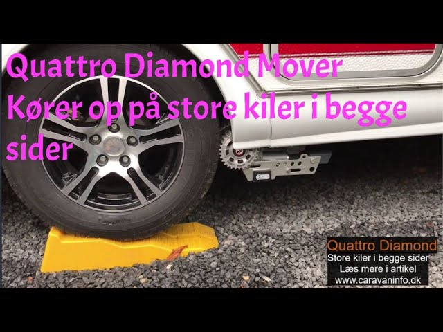 Quattro Diamond Mover - Kører op på store kiler i begge sider