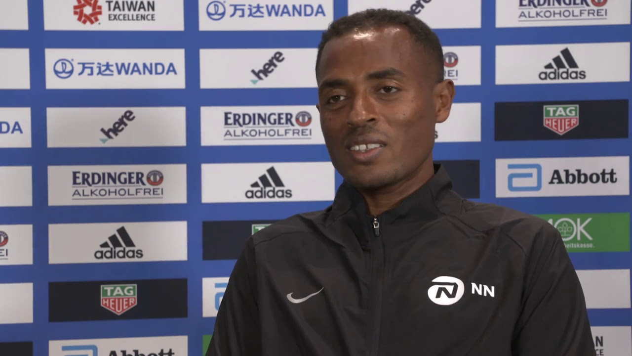 VIDEO RELEASE: BMW BERLIN-MARATHON ON SUNDAY:  Video interviews with Kenenisa Bekele