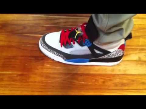 big sale 39914 72420 2012 Air Jordan Spizike Bordeaux On Feet - YouTube