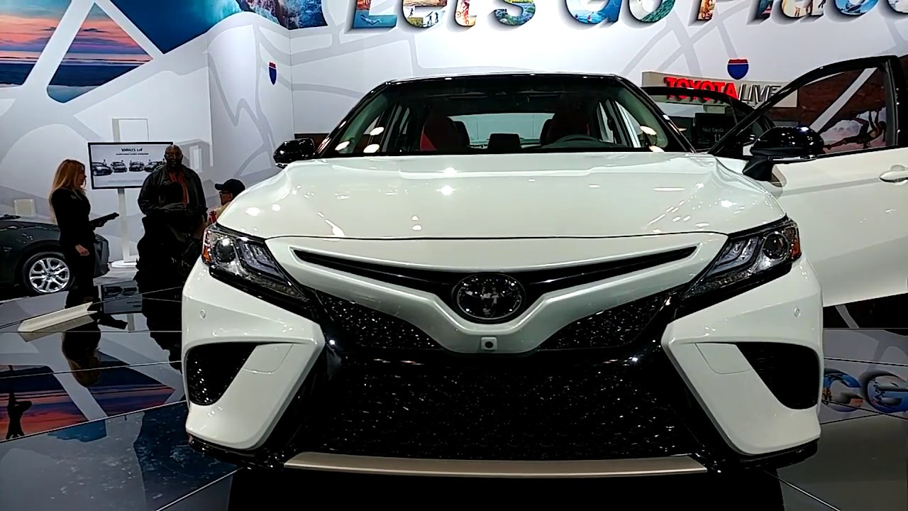 2018 toyota camry xse new york international auto show youtube. Black Bedroom Furniture Sets. Home Design Ideas
