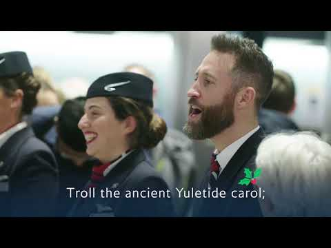 British Airways - Deck the Arrival Halls
